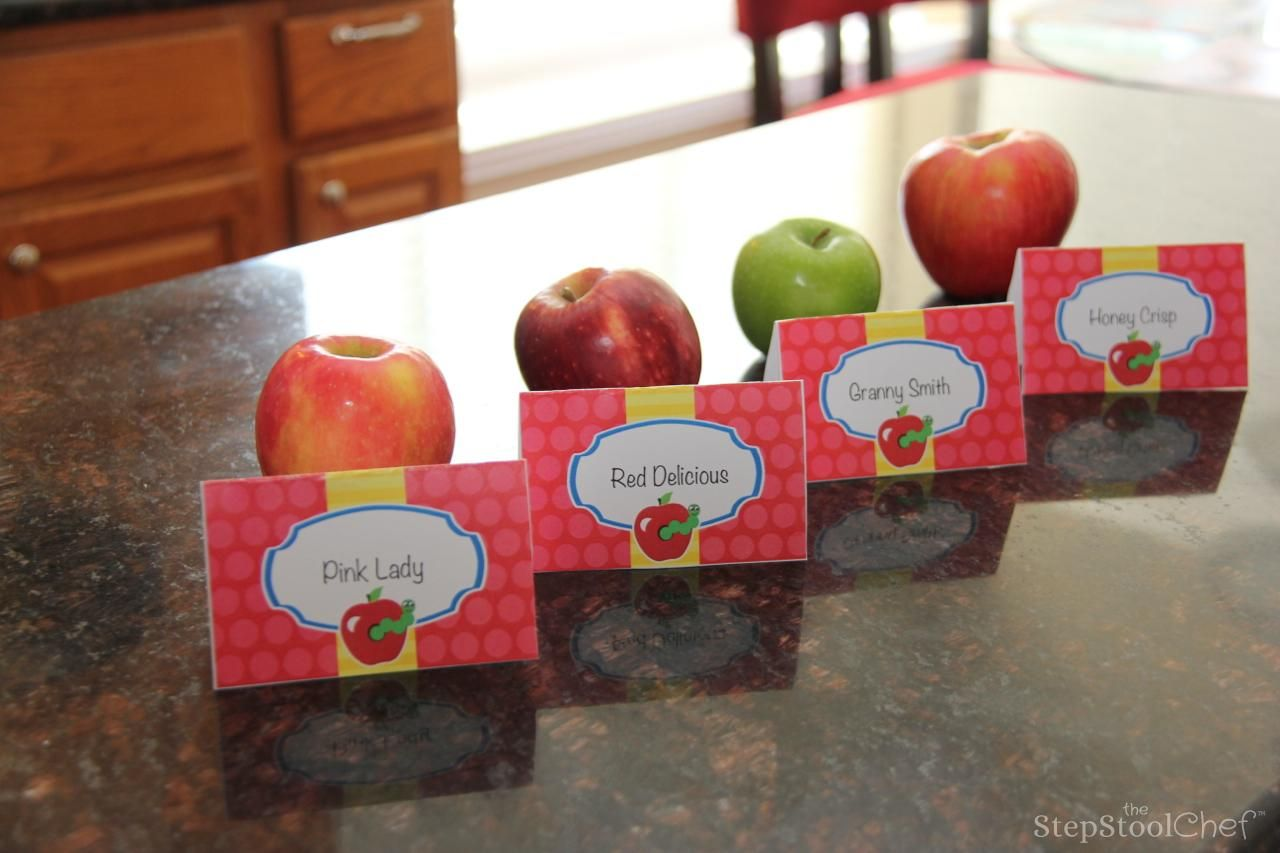 How To Host A Family Fun Apple Tasting Activity With