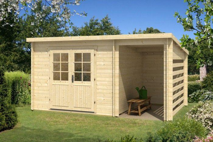 Pultdach gartenhaus modell maria 28 compact unsere for Gunstiges gartenhaus