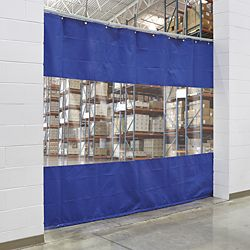 Industrial Curtain Walls In Stock Industrial Curtains Hanging