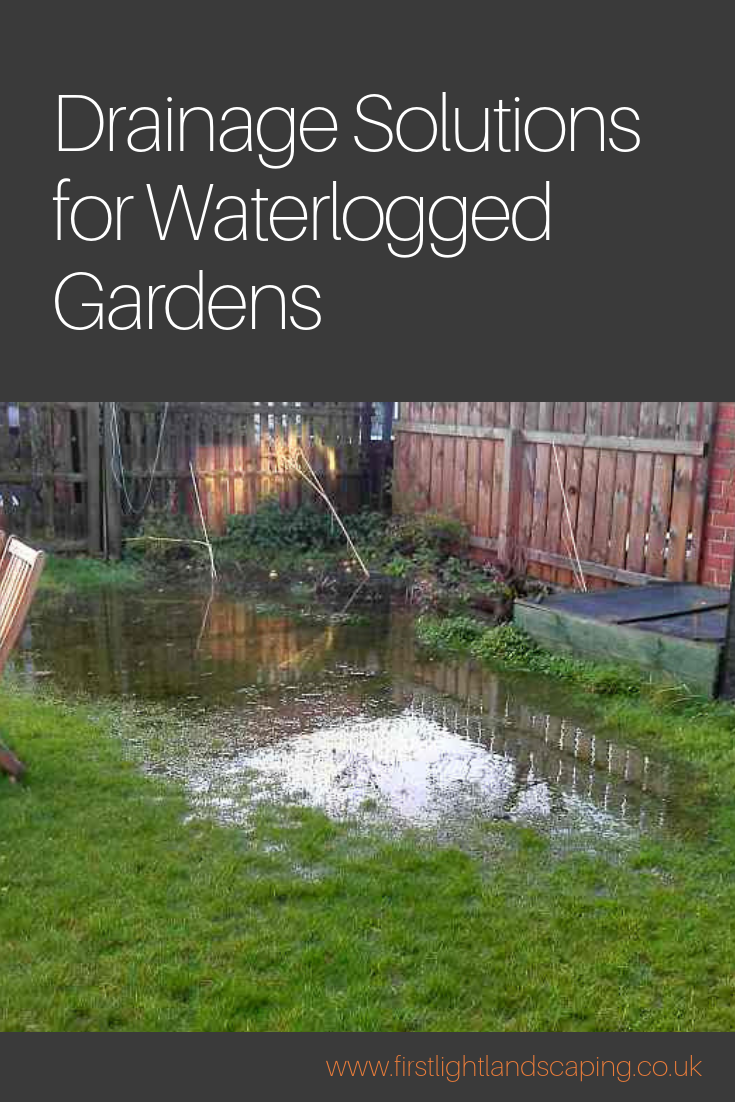 If Your Garden Becomes Waterlogged After Heavy Rain It May Benefit From Some Kind Of Drain Drainage Solutions Landscaping Backyard Drainage Landscape Drainage