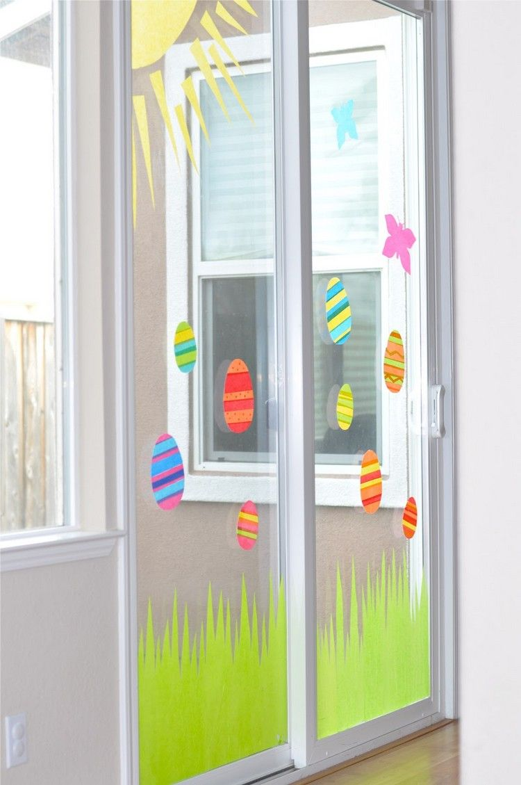 Photo of Window pictures for Easter tinkering with children – 35 great ideas and templates