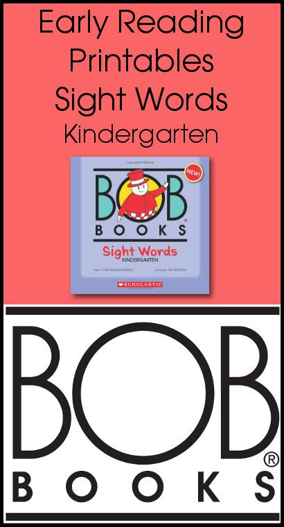 graphic about Sight Word Book Printable named Early Looking at Printables BOB Textbooks Sight Text Kindergarten
