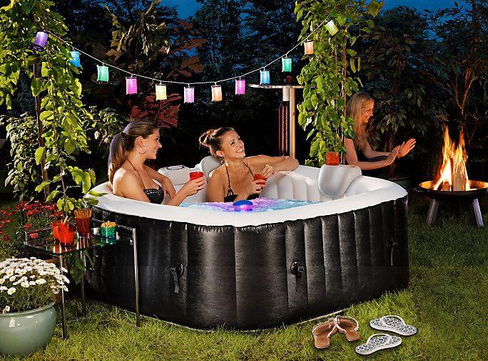 Whirlpool Garten and Gardens - whirlpool im garten selber bauen