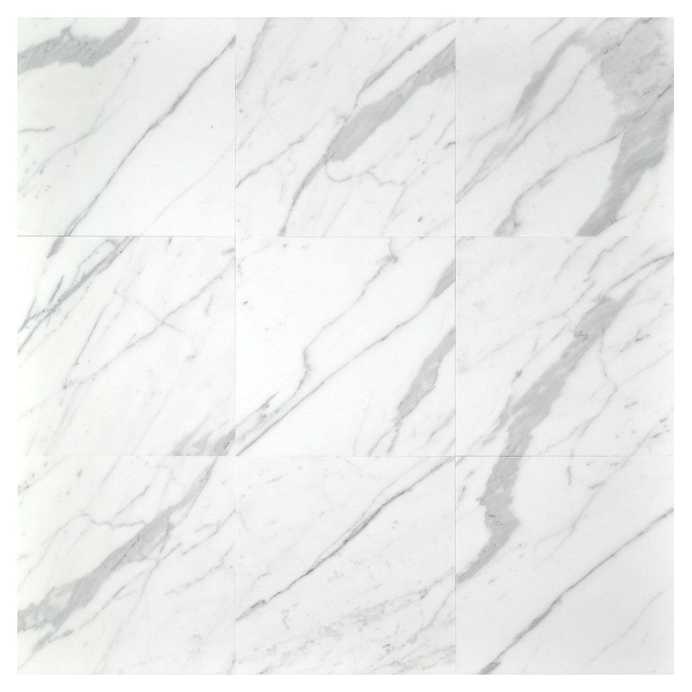 Statuary Extra Honed Marble Tiles - 12\