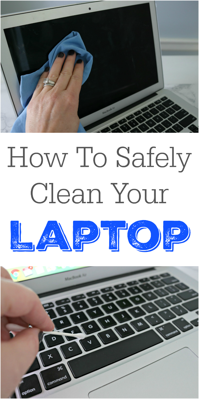 how to clean a laptop safely bloggers 39 best home tips and tricks cleaning hacks house. Black Bedroom Furniture Sets. Home Design Ideas