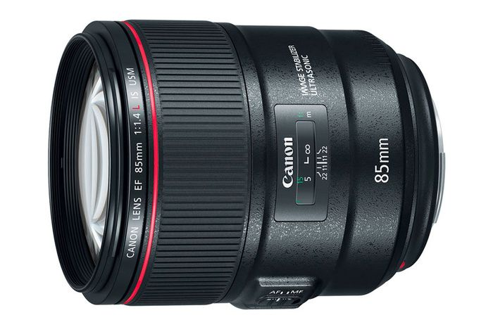 Canon Announces The 85mm F 1 4l Is Three Other Lenses A Flash And A Camera Canon Lens Canon Ef Lenses Lens