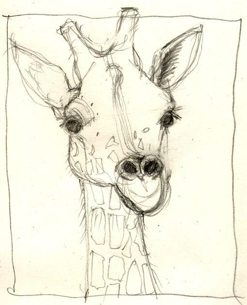 giraffe drawing google search