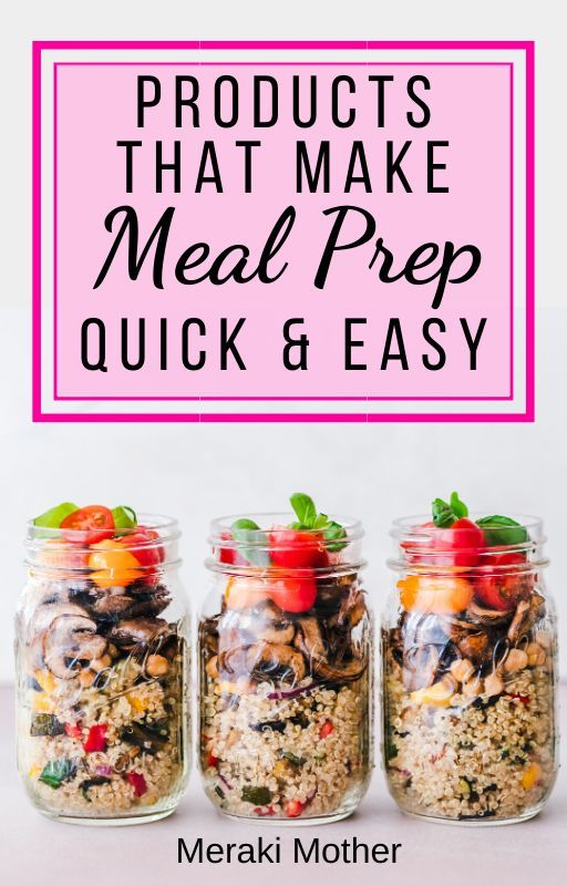 The Best Products for Meal Prep #mealprepplans