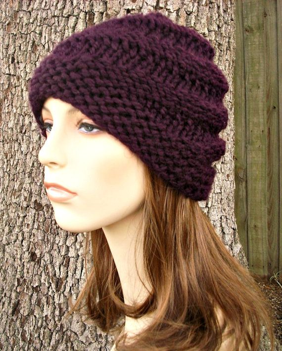 Instant Download Knitting Pattern - Womens Hat Pattern - Knit Hat ...