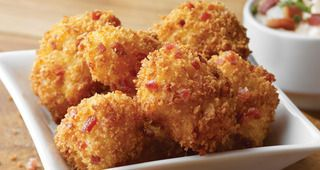 Bacon Crusted Cheese Curds