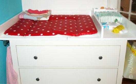 selbsgebauter wickeltischaufsatz f r hemnes kommode r ckbau bzw umbau diy tops kid closet. Black Bedroom Furniture Sets. Home Design Ideas