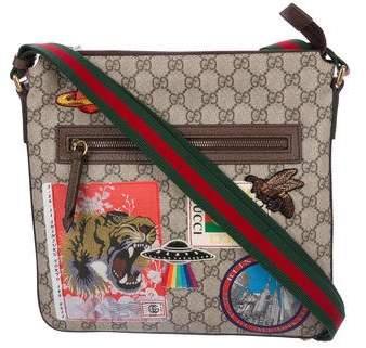 9d14ab1bf5f Gucci Courrier GG Supreme Messenger Bag