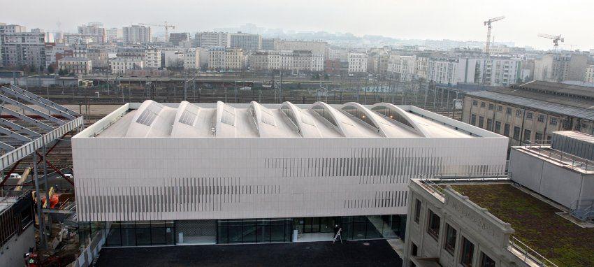 Sports Centre Pajol, Paris, France by Brisac Gonzalez