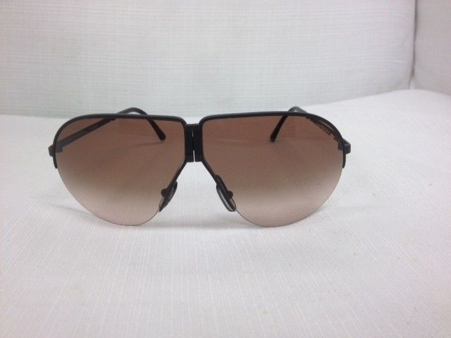 4f54ccab7be VINTAGE PORSCHE DESIGN BY CARRERA AVIATOR FOLDING 5628 SUNGLASSES  Porsche   Aviator