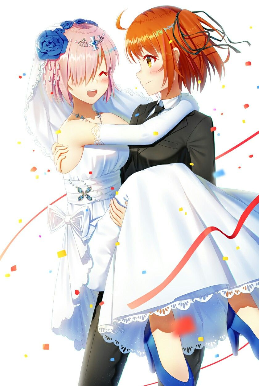 Mash & Female MC Anime, Fate stay night, I love anime