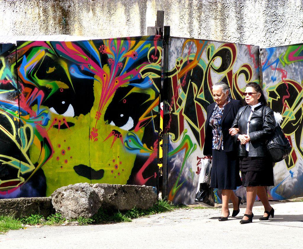 Stinkfish x Zas x Inha New Mural In Bogotá, Colombia