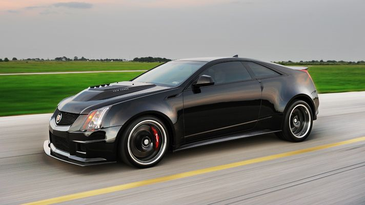 Hennessey 1,200bhp Cadillac CTS-V Coupe.