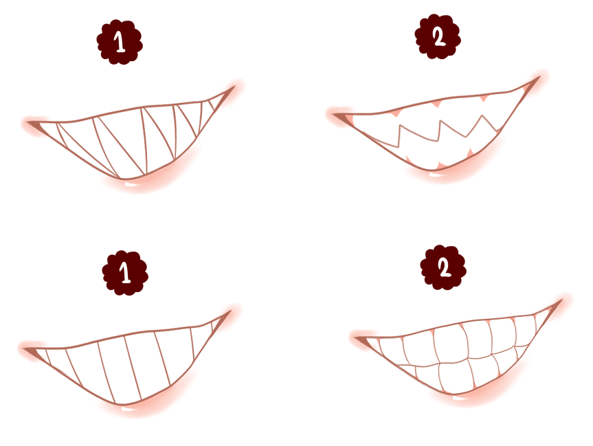 It is an image of Epic Scary Mouth Drawing