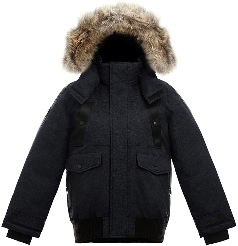 Amazon Com Triple F A T Goose Saga Collection Norden Girls Hooded Goose Down Jacket Parka With Real Coyote Fur Clothing Jacket Parka Down Jacket Jackets [ 1032 x 1000 Pixel ]