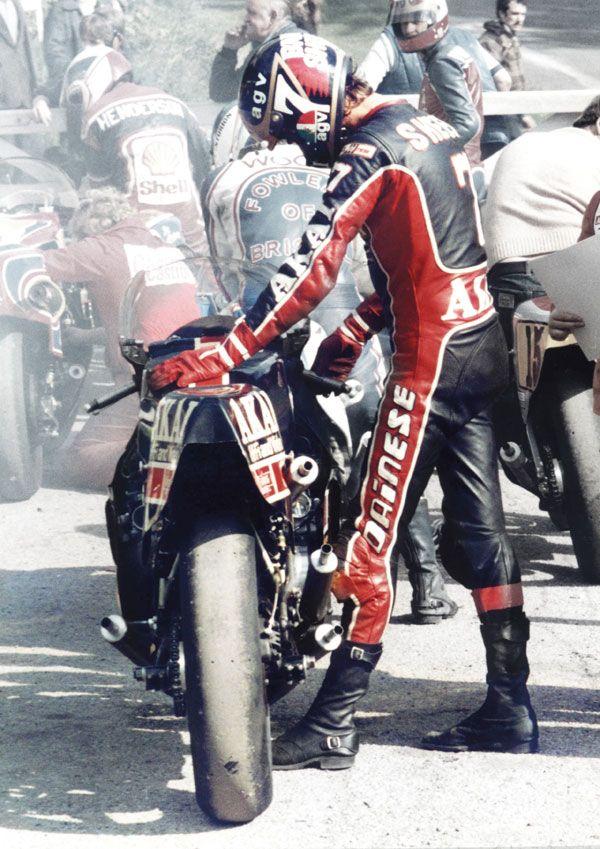 Poster Barry Sheene Yamaha 1980