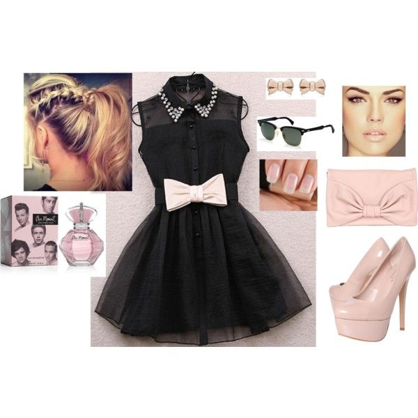 kiss me, created by allison-19 on Polyvore