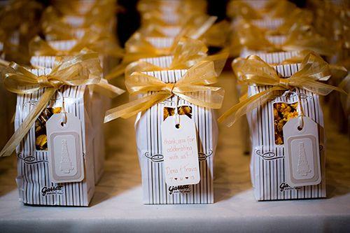 Popcorn Wedding Favors | I do! | Pinterest | Favors, Weddings and ...
