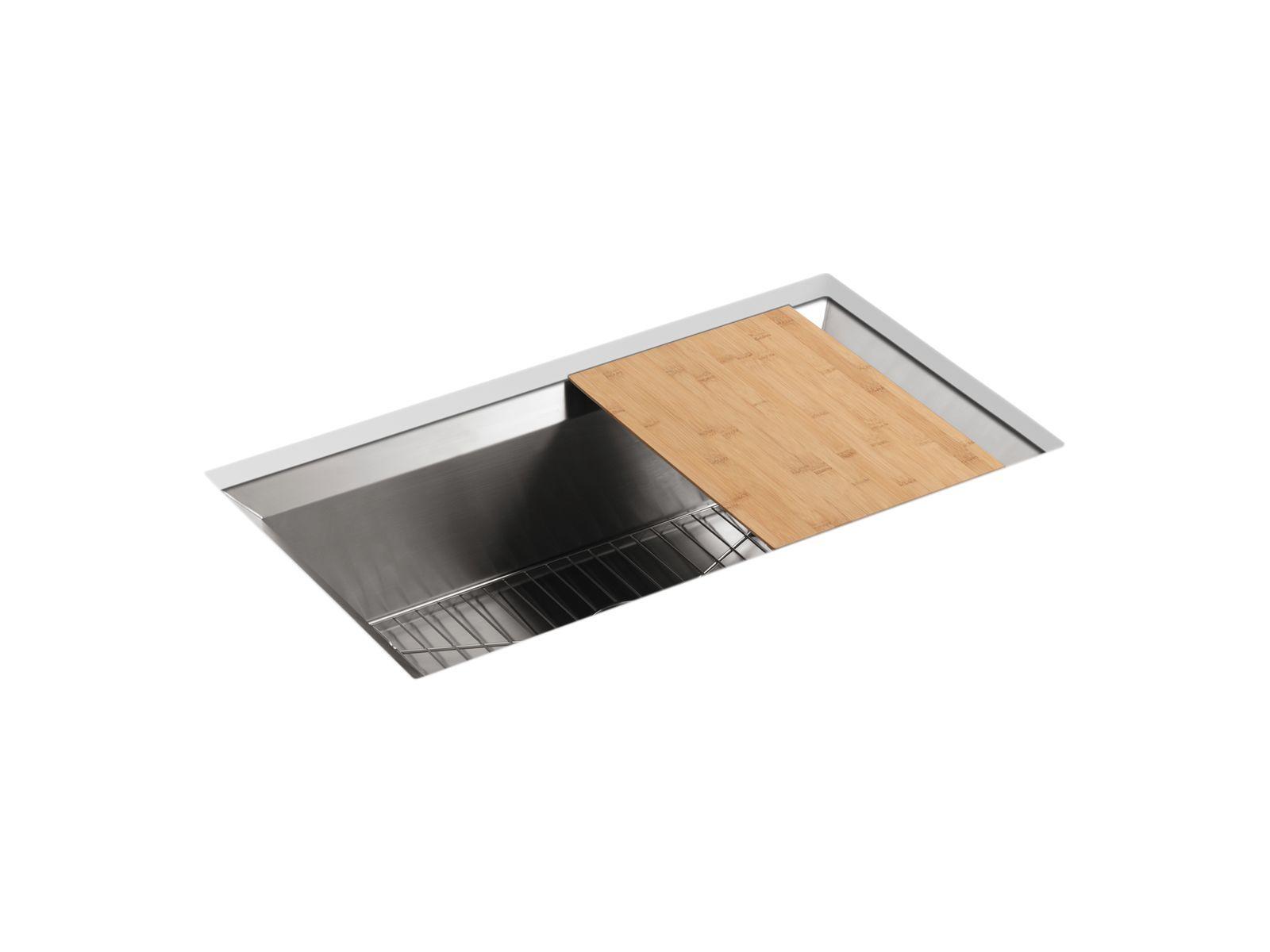 Schon Poise Under Mount Single Bowl Kitchen Sink | K 3158 | KOHLER