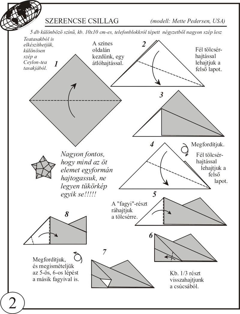 Origami New Year Luckystar 1 8001045 Mandalas Flowers Diagrams