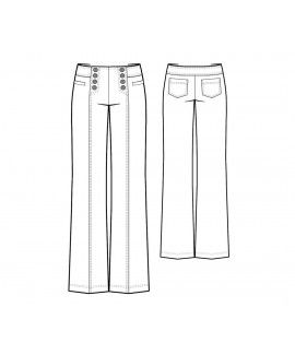 Made To Measure Sewing Patterns - Sailor Pants