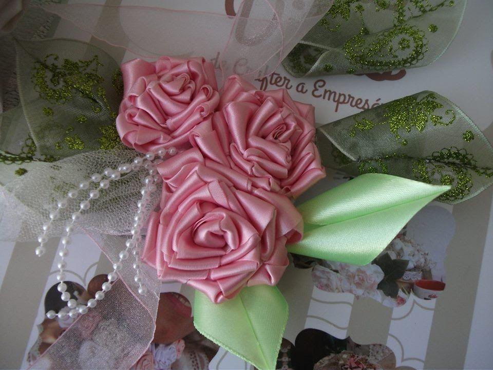 Como fazer folhas de cetim para os arranjos de flores