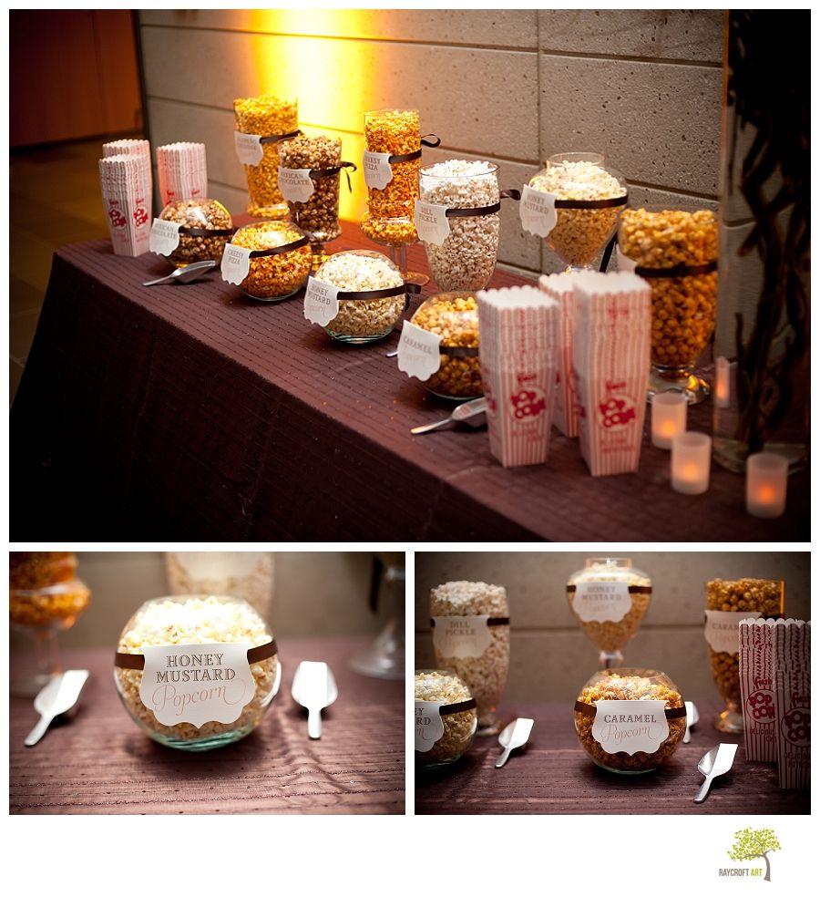 Popcorn Bar I Will Definitely Be Having One Of These At My Wedding