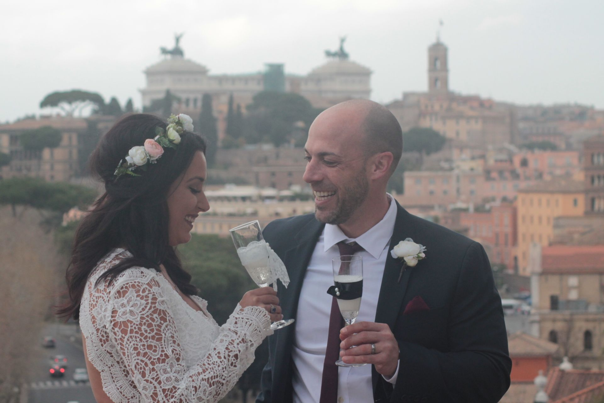 Emotions of the heart <3 Renewal of the vows in Rome , wedding celebrant , renewal of the vows ceremony in Rome