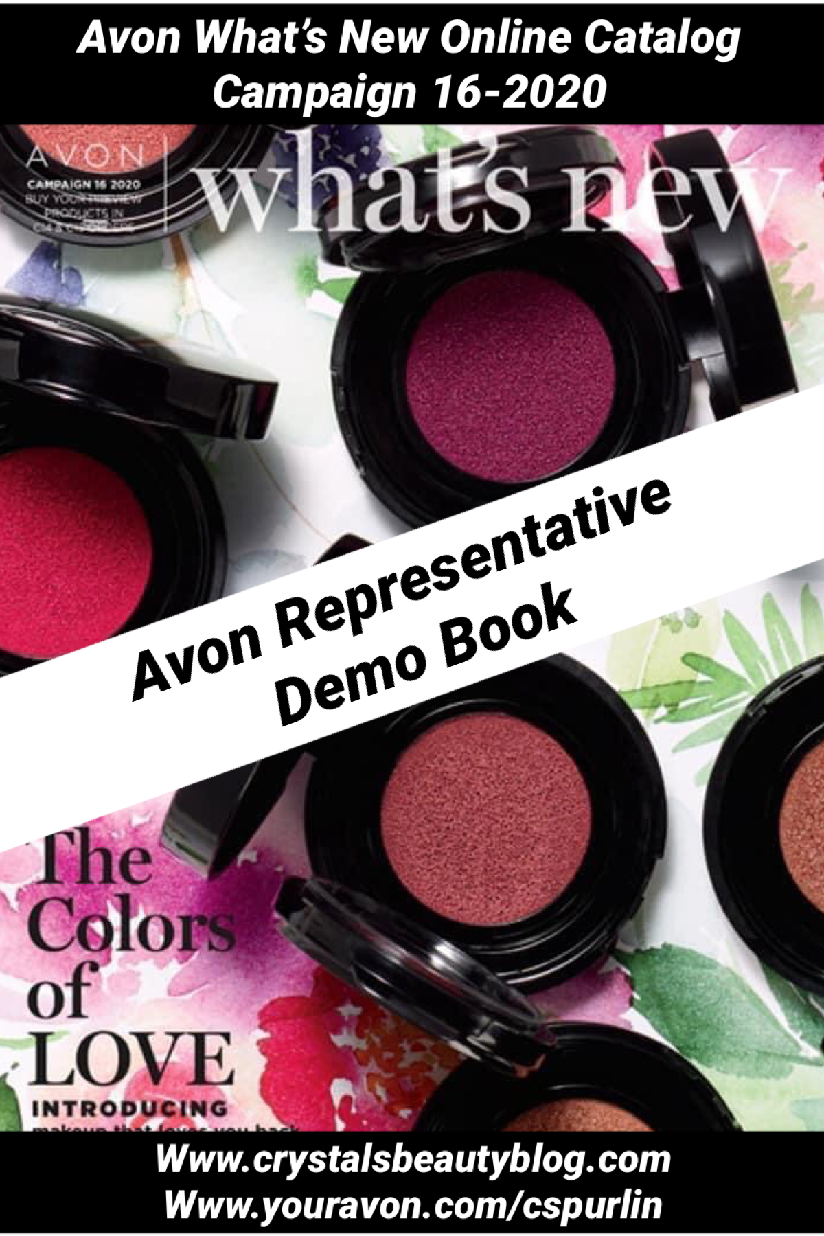 Avon What's New Campaign 162020 Online Catalog Crystal