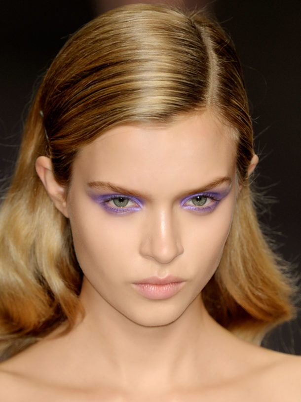 For a statement beauty look, try a bold eyeshadow.  Bold, yet soft.