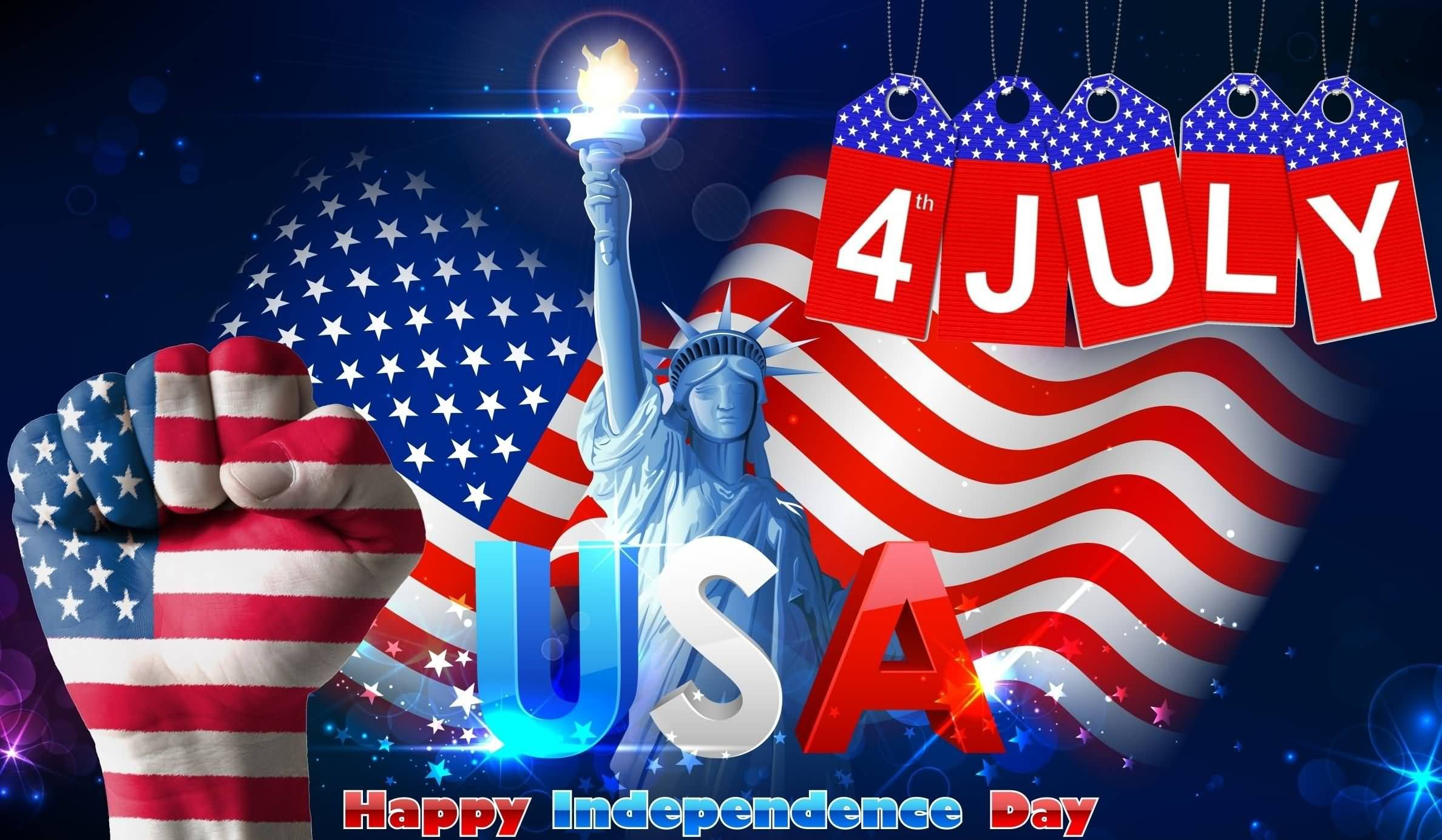 4th July USA Happy Independence Day | Happy independence ...