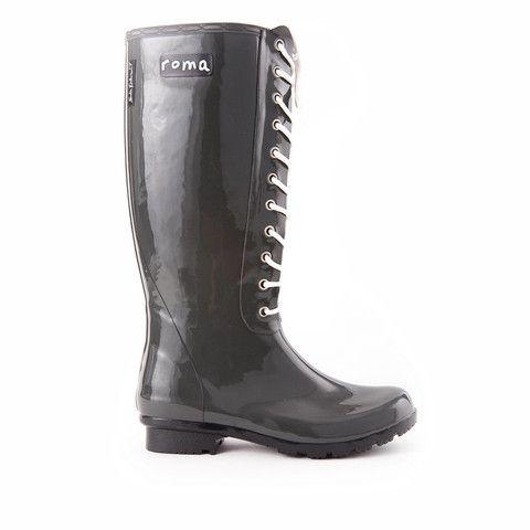 Opinca Ladies Tall Lace Up Rain Boot Sadie Robertson