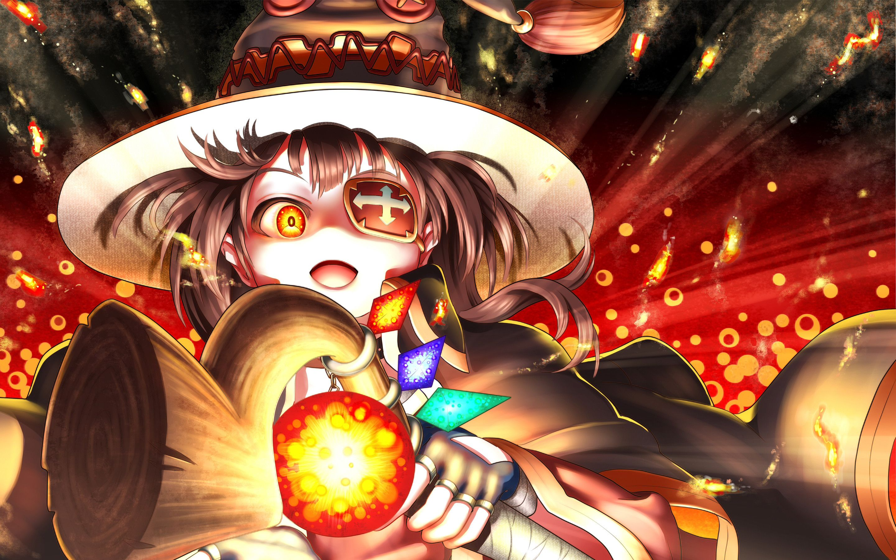 Res 2880x1800 Megumin Anime 4k Hd Anime Wallpapers Anime Wallpaper Download Anime Wallpaper