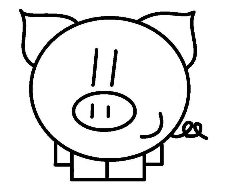 Cerditos Para Iluminar Doodle Lettering Pig Illustration Pig Cartoon
