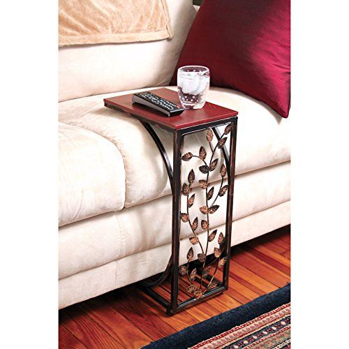 Leaf Design Sofa Side Table This Clever Table Slides Up To Your Chair Or  Sofa Easily And Puts A Book, The Remote, Or Snack Within Easy Reach.