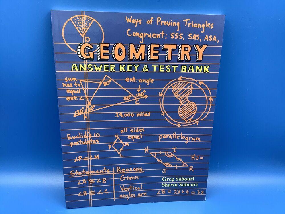 Pin On Teaching Textbooks Sabouri Geometry 1 0 First Ed