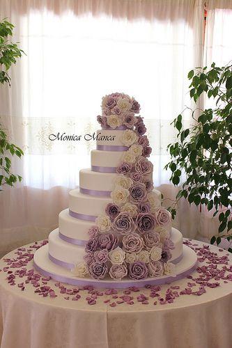 Wedding Cake In 2018 Pasteles De Boda Pinterest Boda Boda - Color-lila-pastel