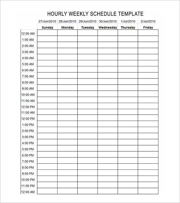 hours schedule template  free word excel pdf format download also time management weekly bobbies wish list pinte rh pinterest