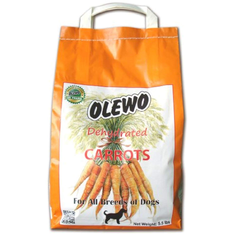 Olewo Carrots Digestive Dog Food Supplement, effective dog