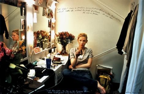 Cate Blanchett The Star in her Dressing Room (William Yang - courtesy clerk