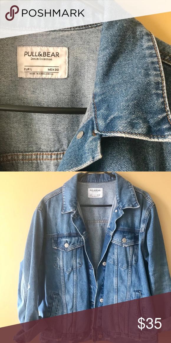 4eb78bd5eb3 Pull & bear denim jacket, worn only a few times Pull and bear denim jacket  - purchased in Italy Pull&Bear Jackets & Coats Jean Jackets