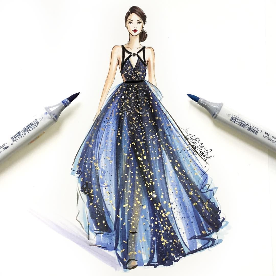 Pin by Angelika McGovern on fashion illustrations ...
