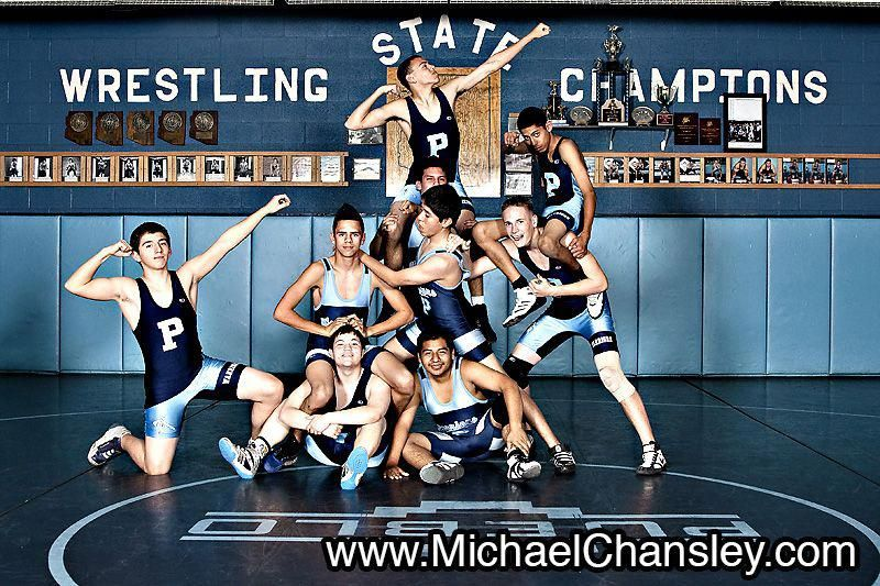 Fun Group Sports Wrestling Portrait Photo Ideas At Pueblo High School In Tucson Az Arizona Taken By Michael Wrestling Senior Pictures Wrestling Sport Portraits