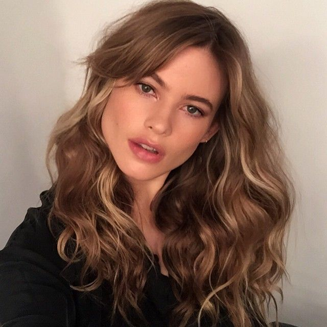 @behatiprinsloo today @victoriassecret hair by me and make up by @hungvanngo #beauty #grateful