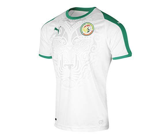 0e585a23639 PUMA 2018-2019 Senegal Home Football Shirt World Cup 2018, Fifa World Cup,