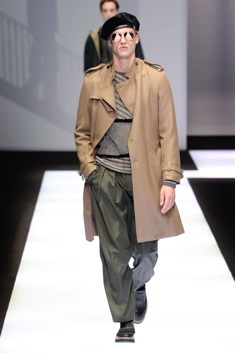 a66f997be686e Emporio Armani   Menswear - Autumn 2017   Look 59
